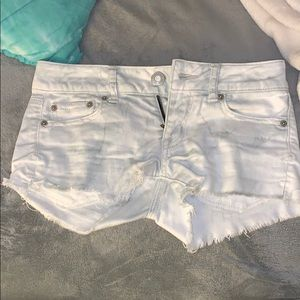 American Eagle Jean shorts, Light